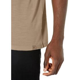 Icebreaker Nature Dye Tech Lite Anniversary XXV SS Crewe T-Shirt Men, almond